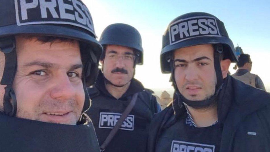 Şengal Savaşı : Harun Aykaç , Mustafa Kerim ve Aram Baxteyar